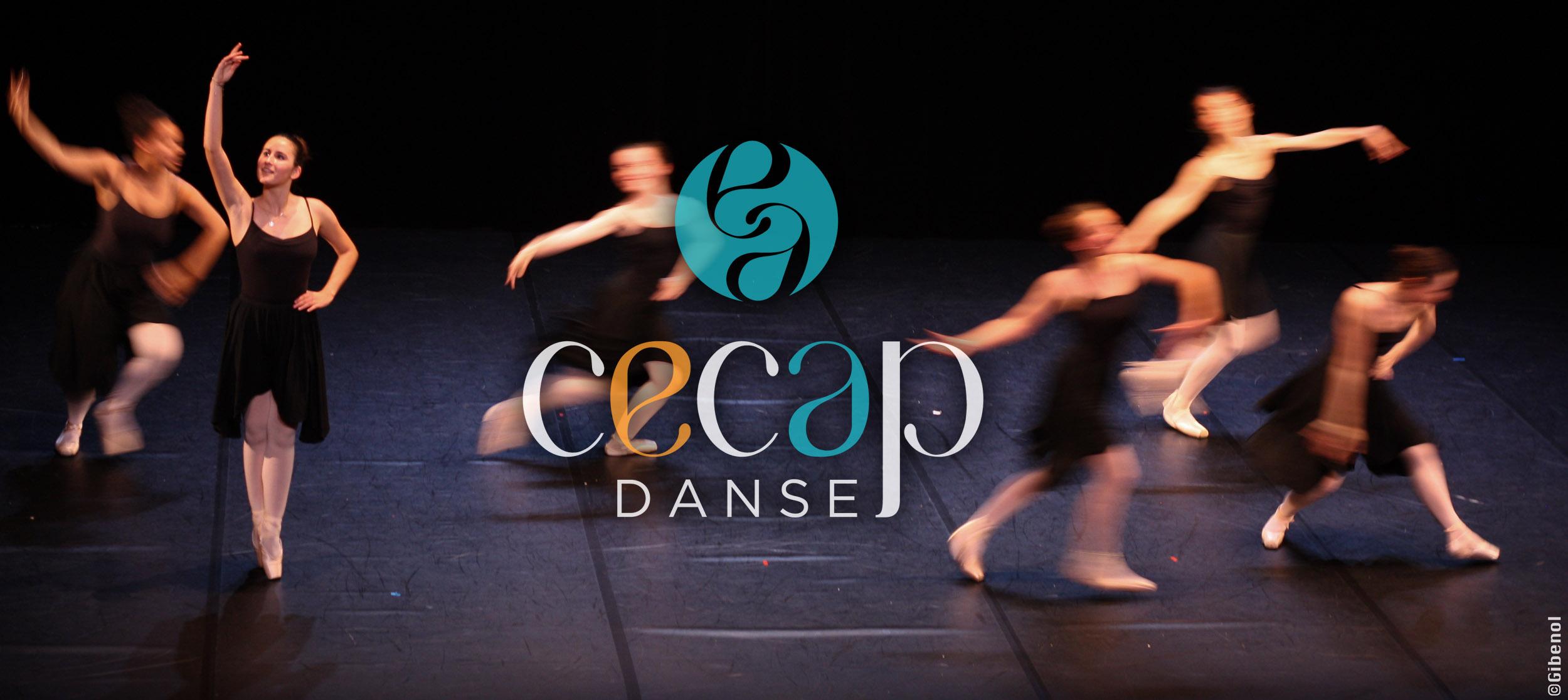 Spectacle de danse du CECAP Lorient - danseuses classiques sur scène