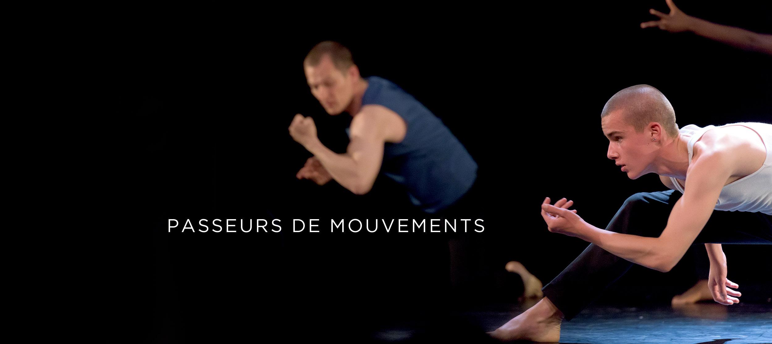 Spectacle de danse du CECAP Lorient - danseurs contemporains sur scène