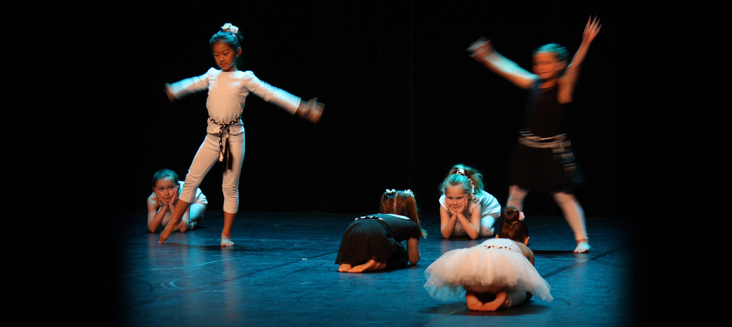 Spectacle de danse des enfants au CECAP Lorient
