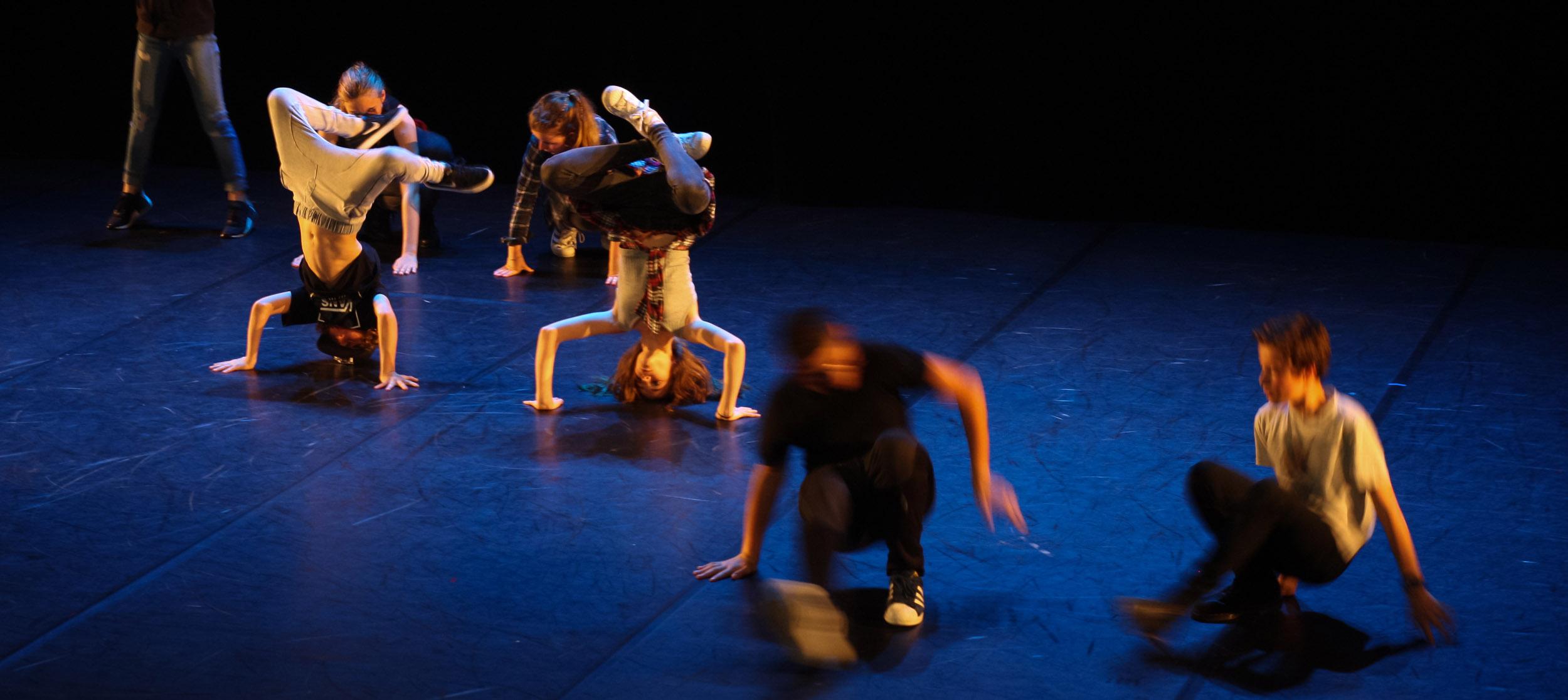 Spectacle de hip hop - CECAP danse Lorient