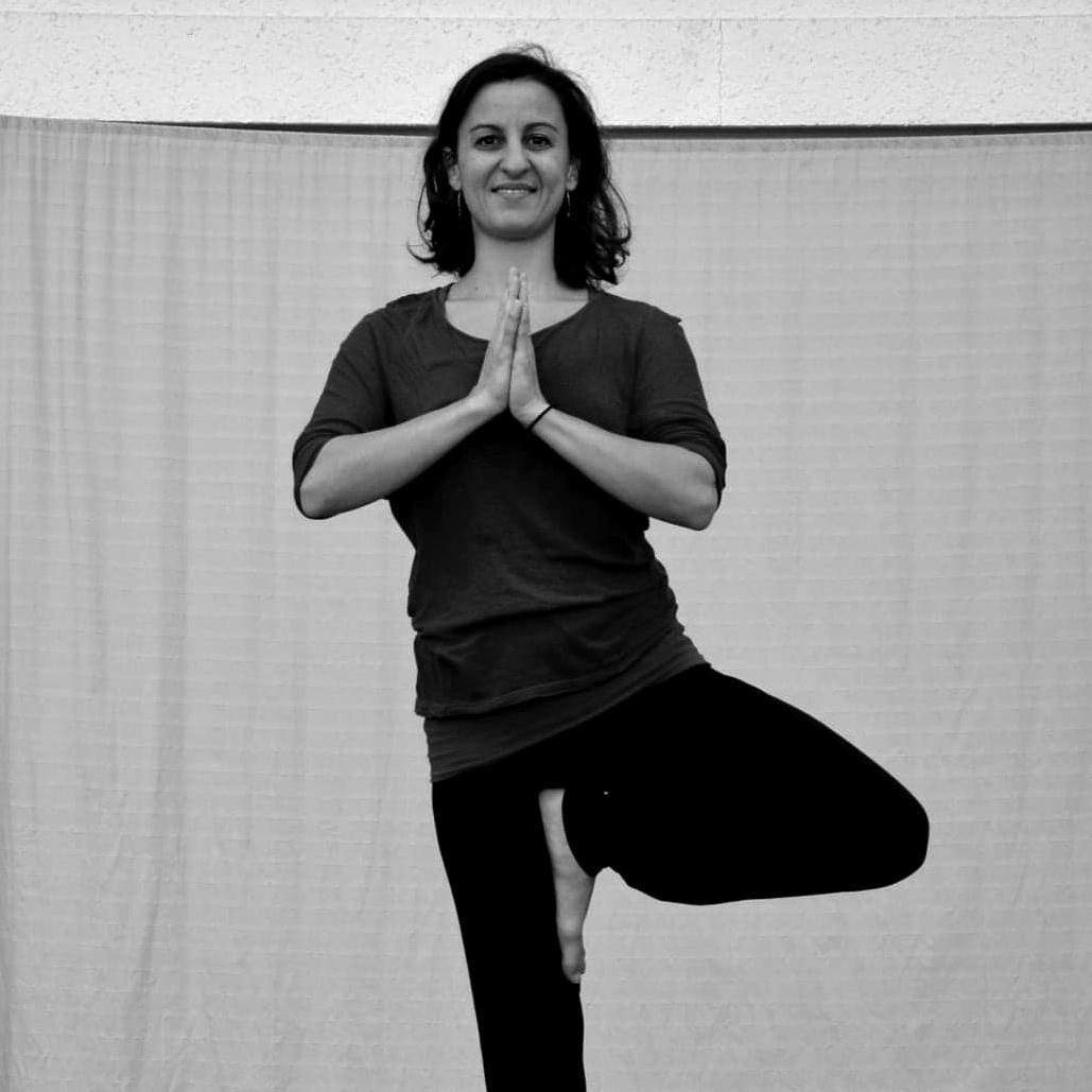 Emilie Dubois, professeur d'Hatha Yoga au CECAP Lorient
