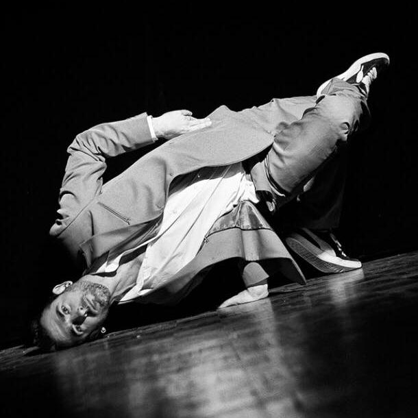 Gregory Deidda, professeur de hip hop au CECAP Lorient